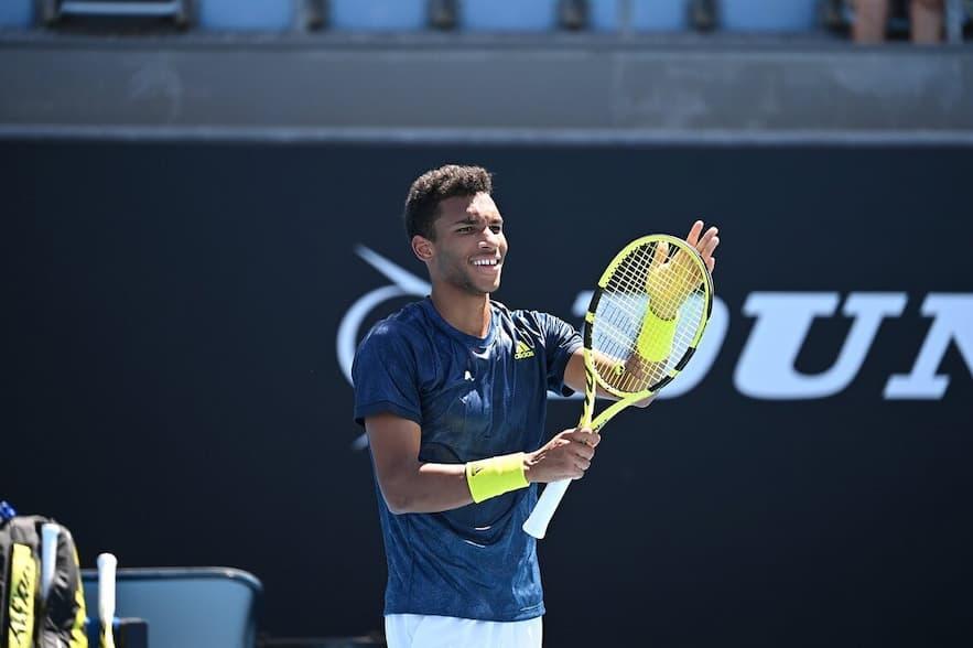 Le joeur de tennis Felix Auger-Aliassime