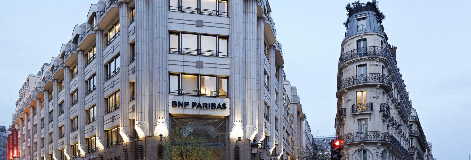 Photo of BNP Paribas Paris building